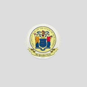 New Jersey Seal Mini Button
