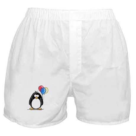 Primary Balloons Penguin Boxer Shorts