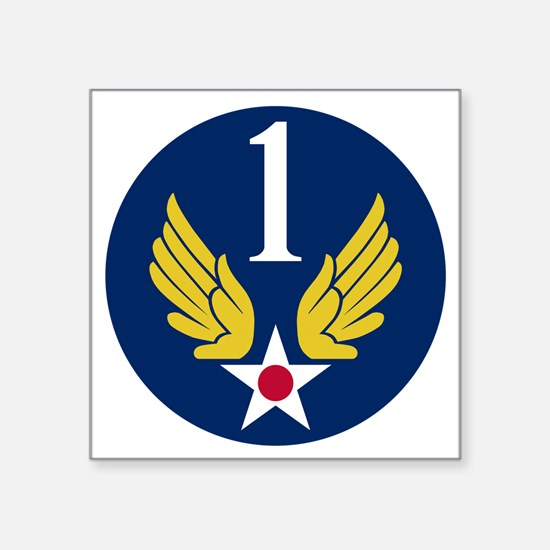 """1st Air Force - WWII Square Sticker 3"""" x 3"""""""