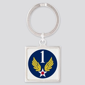 1st Air Force - WWII Square Keychain