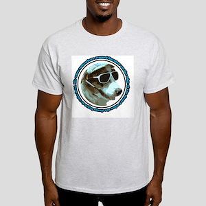 Hunter S Gonzo Ash Grey T-Shirt