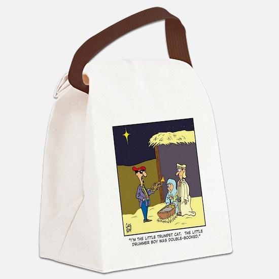 littletrumpetcat Canvas Lunch Bag