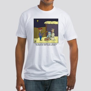 littletrumpetcat Fitted T-Shirt