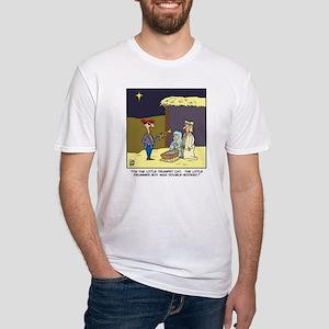 littletrumpetcat Fitted T-Shirt