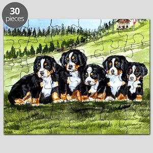 berner farm pups Puzzle