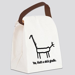CafeShirt6 Canvas Lunch Bag