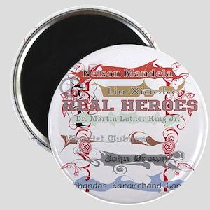 Real Heroes Magnet