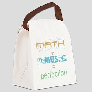 mathandmusic Canvas Lunch Bag