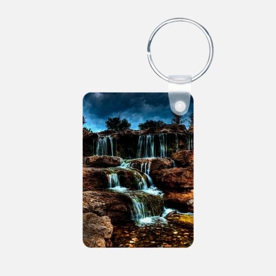 ip3g_waterfalls Keychains