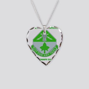 4th In Div-SPEC. Troops BN Wi Necklace Heart Charm