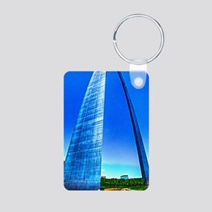 ip3g_arch Aluminum Photo Keychain