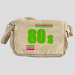 the 80s rock light 2 Messenger Bag