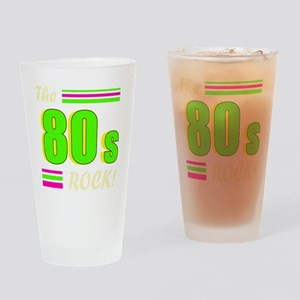 the 80s rock light 2 Drinking Glass