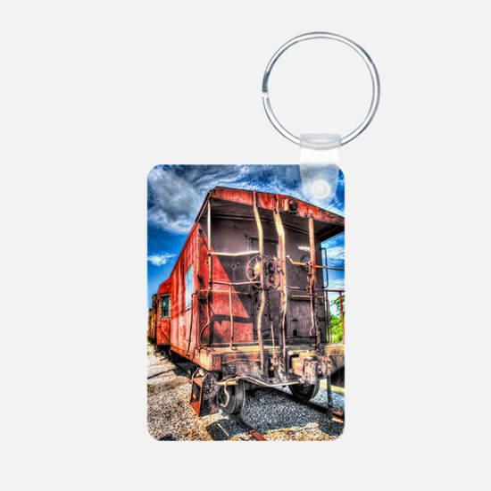 note_caboose Keychains
