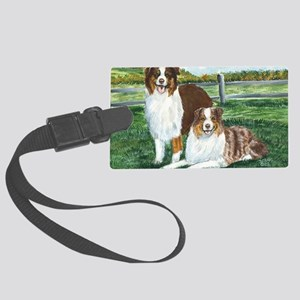 aussie reds Large Luggage Tag