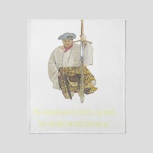 scottishswordvow001b1 Throw Blanket