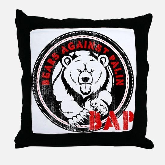 BAP-Op2 Throw Pillow