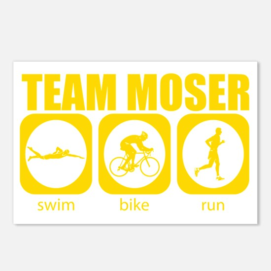 Team-MoserTriathlon-icon- Postcards (Package of 8)