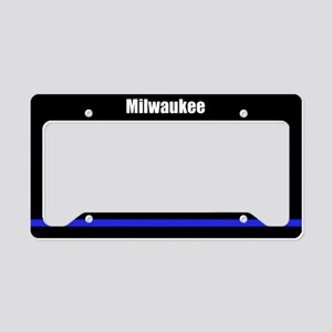 Milwaukee Police License Plate Holder