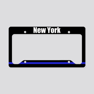 New York Police License Plate Holder