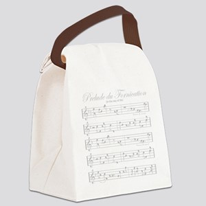 prelude light Canvas Lunch Bag