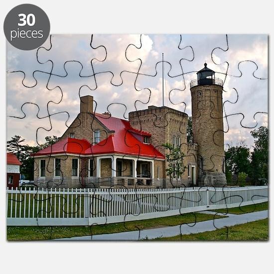 Mackinaw City Light house Puzzle