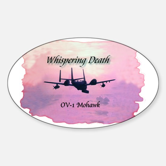 OV1Mohawk Sticker (Oval)