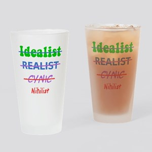 Evolution Of A Nihilist Drinking Glass