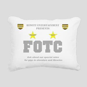 Hewitt FOTC gray clear Rectangular Canvas Pillow