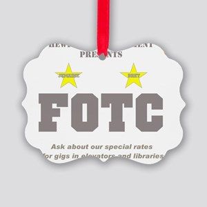 Hewitt FOTC graygold II clear Picture Ornament