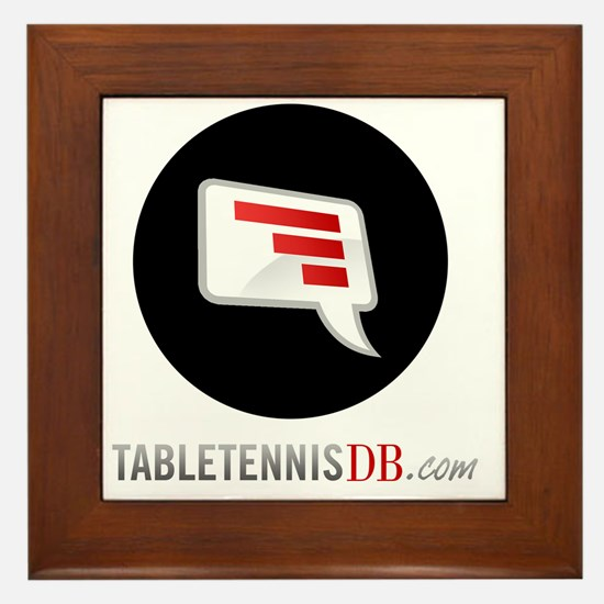 TTDB Logo on White Framed Tile
