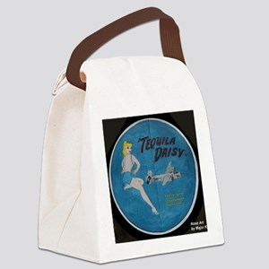 CPTEQUILADAISY Canvas Lunch Bag