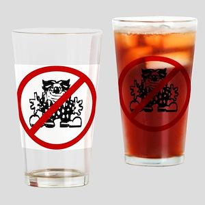 clowns Drinking Glass