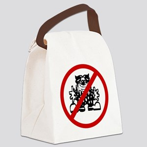 clowns Canvas Lunch Bag