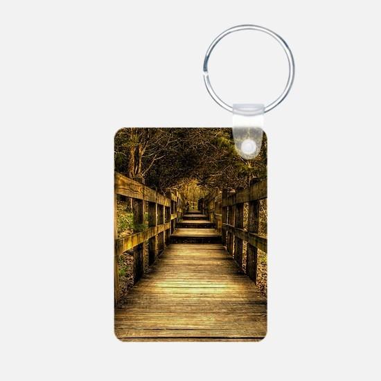 journal journey Keychains