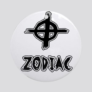 Zodiac killer Round Ornament