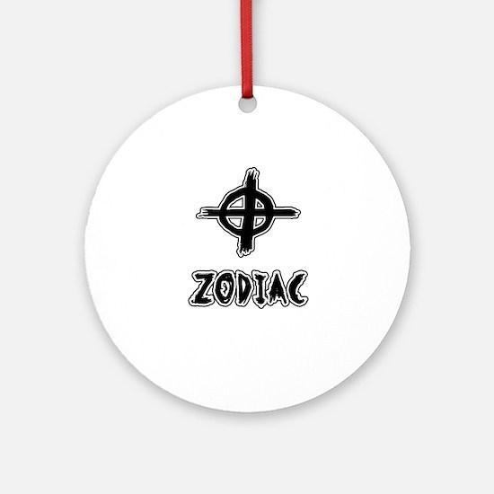 Zodiac killer Round Ornament