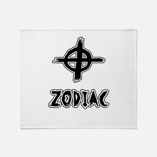 Zodiac killer Throw Blanket