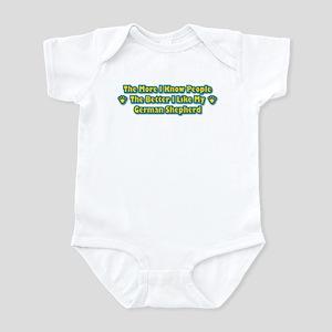Like My Shepherd Infant Bodysuit