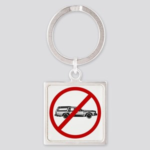 station wagons Square Keychain