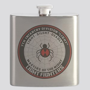 7th Infantry Division (Light) Flask