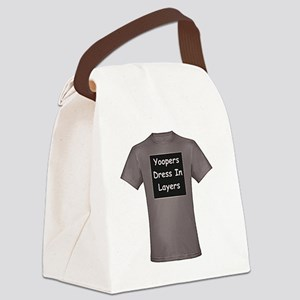 Yoopers_Dress_In_Layers_001 Canvas Lunch Bag