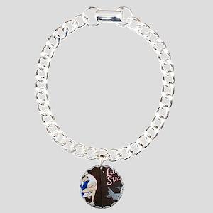 lucky2 Charm Bracelet, One Charm