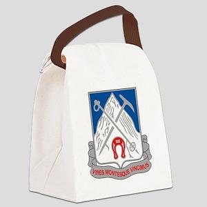87th Infantry Regiment Canvas Lunch Bag