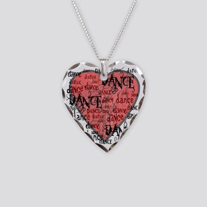 funky dance with heart best d Necklace Heart Charm