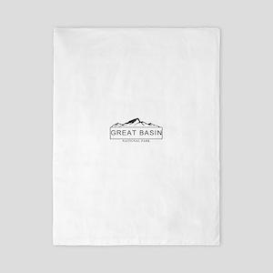 Great Basin - Nevada Twin Duvet Cover