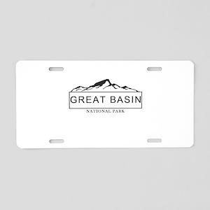 Great Basin - Nevada Aluminum License Plate