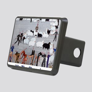 We the Sheeple Rectangular Hitch Cover