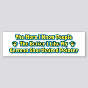 Like My Pointer Bumper Sticker