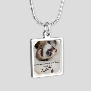 DSC_3911-1 Silver Square Necklace